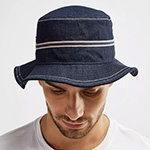 Панама KANGOL арт. K4202ST Denim Stitch Bucket (темно-синий)